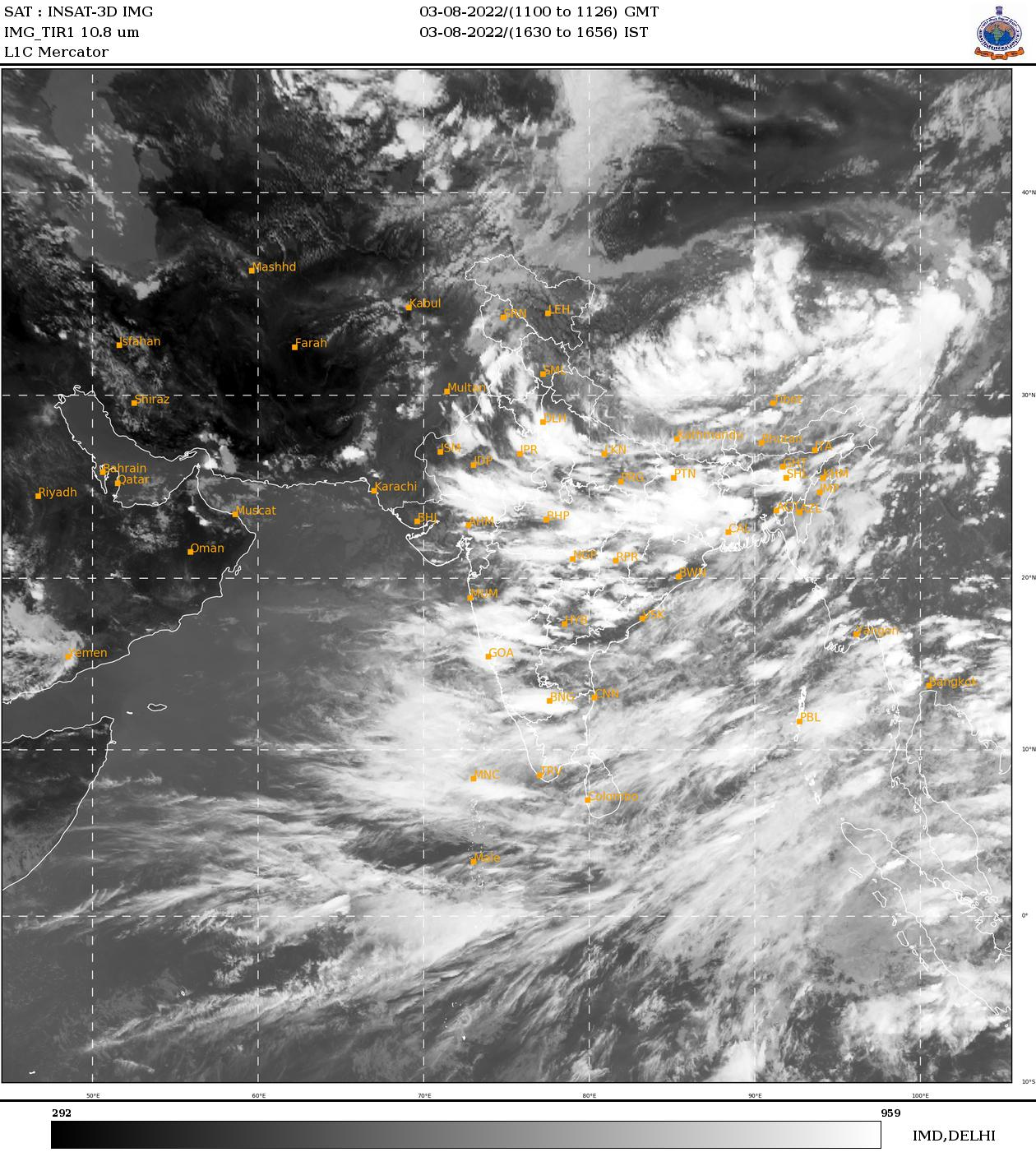 Infrared Imagery INSAT